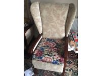 Two Eden mobility tilt and lift electric chairs,