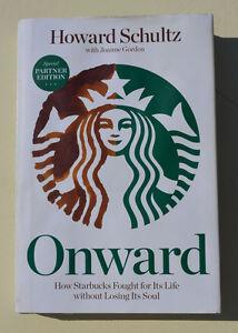 Special PARTNER EDITION of ONWARD (STARBUCKS) by Howard Schultz