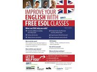 Free* ESOL (English as Second/Other Language) Classes in South Mitcham - Tue/Wed/Thurs