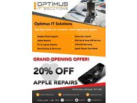 Phone / Tablet / Computer Repair Centre! While-you-wait repairs! 20% OFF APPLE REPAIRS!