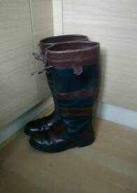 Dubarry gore-tex country riding boots size 7.5