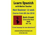 Learn Spanish in Bath with a Native and Qualified Teacher