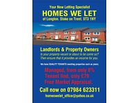 Properties Wanted,HOMES WE LET seeking all kind of houses and flats to let, GUARANTEED RENT
