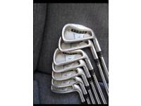 Taylormade irons. Great condition.