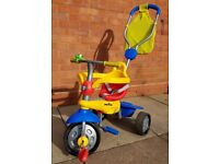 3-in-1 SmarTrike multi-coloured tricycle