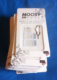 200 NANO SIM ADAPTERS FOR MOBILE AND SMARTPHONES WHOLESALE JOBLOT