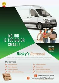 Man and van pick up drop off removals, deliver courier service, Ikea b and q ect, 247 call out