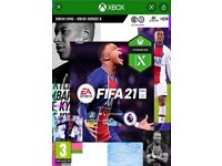 Fifa 21 Xbox one brand new and unsealed ! £30 !
