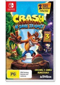 Crash bandicoot brand new for switch