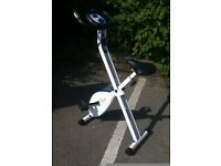 Folding Magnetic Exercise Bike FREE DELIVERY Elliptical Cross Trainer Fitness Gym Cardio