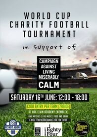 24 TEAM TOURNAMENT NEEDS A FEW PLAYERS TO FILL A TEAM - SAT 16TH JUNE - CONTACT ASAP
