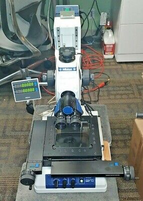 Mitutoyo 176-871-10 Mf-ua1010d Universal Measuring Microscope Wout Z-axis Scale