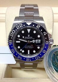Rolex GMT Master II 116710BLNR Batman - Box & Paperwork - 2018