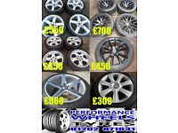 VOLKSWAGEN T5 / T6 ALLOY WHEELS / TYRES