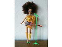 Vintage 1980's Rocking Barbie Type Doll