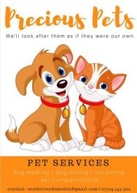 Dog walking / cat sitting / pet services