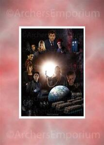 Dr-Who-Cast-Art-Print-Pest-Control-A3-size-New-Doctor-Who-Tennant-Piper