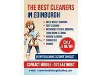 The best cleaners in Edinburgh only £10/h!!!
