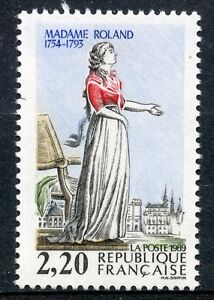 STAMP-TIMBRE-FRANCE-NEUF-N-2593-REVOLUTION-MADAME-ROLAND