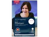 ACCA F5, Performance Management, Study Text (PDF, CD) 2018 BPP