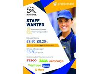 Staff Wanted No Experience Needed Free Training Provided!! Call now 07809439408 (Yasir)