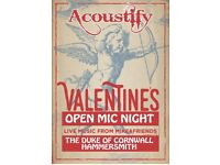 Open Mic - Hammersmith - Every Wednesday