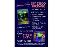DIY Disco/Karaoke Package
