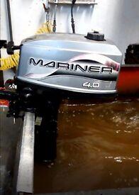 2000 Mariner 4HP 2 Stroke Outboard motor