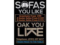 Over 150 sofas at trade price. Save up to 75 %