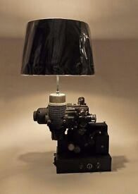 Upcycled Vintage Bell & Howell Filmosound Projector Lamp OOAK
