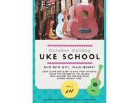 Fun for the October school hols - Uke school!