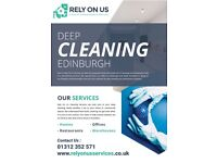 Book a Cleaning Service on Relyonuscleaning click on the website link