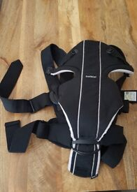 Babybjorn baby bjorn Miracle baby carrier black/silver