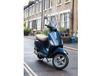 Vespa LX 50 - 2008. Accessories included