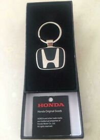 Genuine Honda key ring/fob,costs £30 each,bargain £10, or buy 6 pieces at £40,brandnew boxed