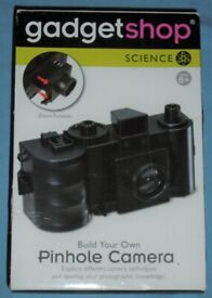 'Build Your Own Pinhole Camera' Kit (new)