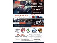 V&E Used Car Parts | Audi, Skoda, Seat, VW, Porsche More than 10000 items in Stock.