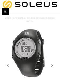 Soleus GPS mini running watch