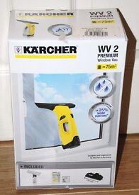 KARCHER WV2 PREMIUM WINDOW VAC - BRAND NEW
