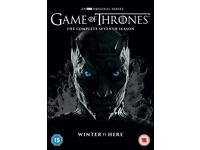 game of thrones season 7 new dvd sealed