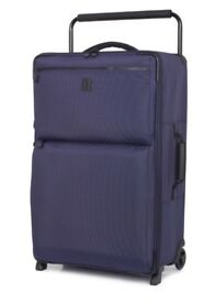 WORLDS LIGHTEST BY IT LUGGAGE 82CM Large suitcase navy: Used ONCE