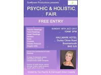 Psychic & Holistic Fair Bournemouth - Hosted by Top Psychic Alison Cassidy. FREE ENTRY