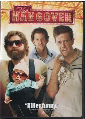 The Hangover (DVD, 2009,Widescreen) Zach Galifianakis, Ed Helms, Bradley (Cooper Hangover)