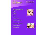 Nails, manicure, eye lashes, massage, pedicure, beauty treatments
