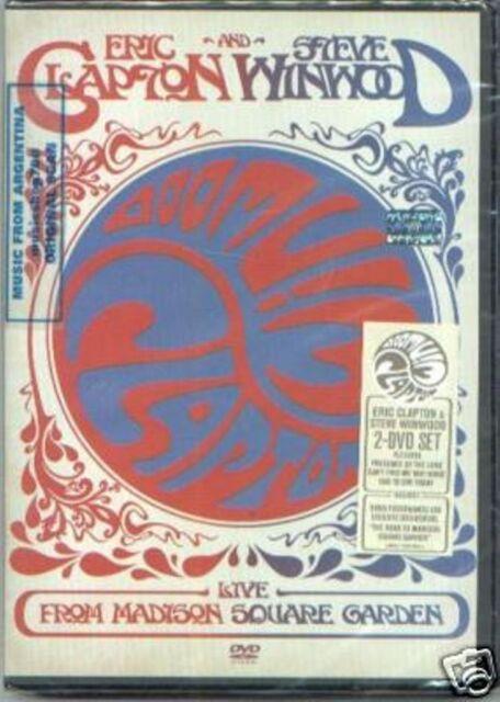 2 DVD SET ERIC CLAPTON STEVE WINWOOD LIVE SEALED 2009