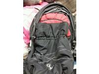 Dimples double pushchair
