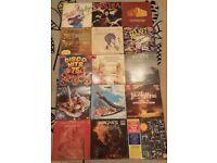 Vinyl, LP, Records Job Lot 160+ Soundtrack, Classical, Disco, 80's, Singles, 45RPM