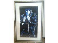 Elvis oil painting