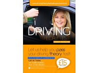 One to One Driving Theory Test Lessons