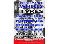NEW AND PART WORN COMMERCIAL TYRES